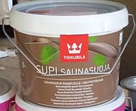 Защитный состав для саун Supi Saunasuoja Tikkurila Супи Саунасуоя, 2.7л