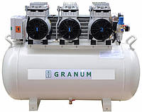 Компрессор Granum 140 (140л/мин) безмаслянный стоматологический