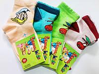 Детские летние носки с рисунком на возраст 3-4 года