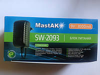Блок питания 9V 3000mah MastAK SW-2093