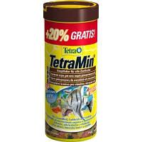 Tetra MIN 250ml +20% (хлопья) - основной корм для аквариумных рыб