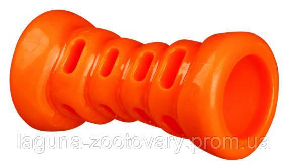 Игрушка для собак Кость термопластрезина без звука 9см