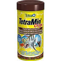 Tetra MIN Crisps 100ml (чипсы) - основной корм для аквариумных рыбок