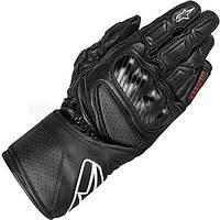 Мотоперчатки ALPINESTARS SP-8 кожа черный, S