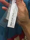 Женские шорты классические голубые широкие итальянские на лето, фото 3