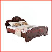 Кровать Каролина 160 тёмная (Сокме)