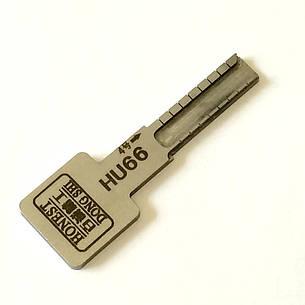 Ключ для нарезки автоключа по коду и замку с лезвием HU 66, фото 2
