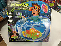 Нано рыбка с аквариумом 29*28см