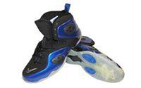 Кроссовки баскетбольные (р-р 41-46) PU NK 1109-BL (верх-PU, подошва-TPU, черный-синий)