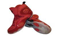Кроссовки баскетбольные (р-р 41-46) PU NK 1109-R (верх-PU, подошва-TPU, красный)