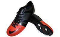 Бутсы (копы) мужские (р-р 40-45) PU NK OB-3423-BKO (верх-PU, подошва-RB, черный-красный)