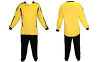 Форма вратарская мужская CO-1441-YL (PL, р-р L-48-50, XL-50-52, 2XL-52-54, 3XL-54-56, желтый-черный)