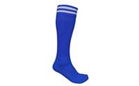 Гетры футбольные мужские CO-5601-B (нейлон, р-р 40-45, синие)