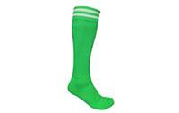 Гетры футбольные мужские CO-5601-G (нейлон, р-р 40-45, зеленые)