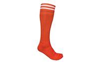Гетры футбольные мужские CO-5601-OR (нейлон, р-р 40-45, оранжевые)