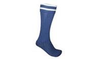 Гетры футбольные юниорские CO-5608-DB (х-б, нейлон, р-р 32-39, темно-синие)
