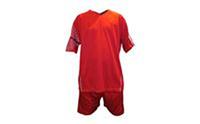 Форма футбольная без номера CO-3109-R (PL, р-р M-46-48, L-48-50, XL-50-52, 2XL-52-54, красно-белая)
