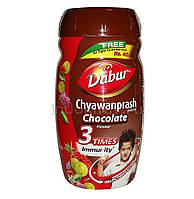 Чаванпраш Дабур Авалеха со вкусом шоколада, Chyawanprash Chocolate 3 times more Immunity, Dabur,  500 г