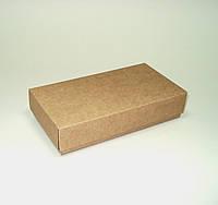 Коробка подарочная из крафт картона 165х85х35 мм.
