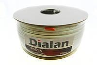 Dialan F6SSV 1,02 мм Четырёхслойный экран 75 Ом 100 м