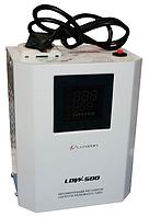 Релейный однофазный стабилизатор напряжения Luxeon LDW-500 (белый)