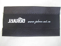 Защита пера от цепи для велосипеда (JAKROO) черная