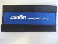 Защита пера от цепи для велосипеда (JAKROO) синяя