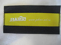 Защита пера от цепи для велосипеда (JAKROO) желтая