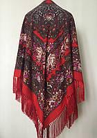 Роскошный женский платок с турецким узором