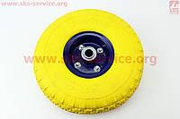 Колесо на тачку силиконовое 4,00-4 под ось 20 мм