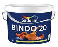Глянцевая водоэмульсионная краска для стен и потолков Bindo 20