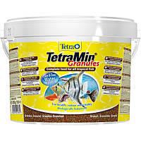 Tetra MIN Granules 10L / 4,2кг (гранулы) - основной корм для аквариумных рыб