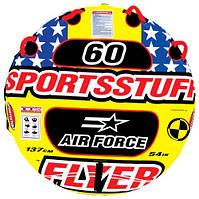 Буксируемый водный аттракцион, таблетка, плюшка SportsStuff Air Force для 1 человека