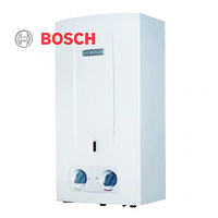 Газовая колонка BOSCH therm 2000 W 10-KB дымоходная, автомат(батарейки), без модуляции