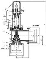 Клапан предохранительный открытого типа Армагус