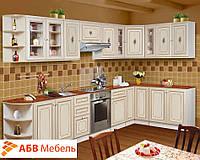 Кухонная система К-1 вариант №2 беж гоа (ТМ Скай)