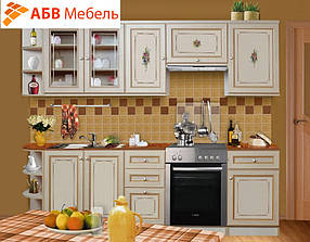 Кухонная система К-1 вариант №1 беж Гоа(ТМ Скай)
