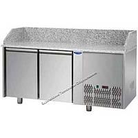 Холодильный стол для пиццы профессиональный 2 двери Tecnodom PZ 02 EKO GN