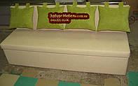 Диван для узкой кухни с ящиком + спальным местом 1800х500х870мм