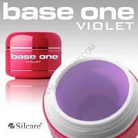 Самовыравнивающийся однофазный гель Base One Violet,заводская упаковка. 250г