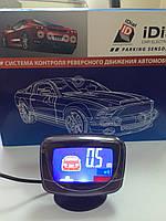 Парктроник D-069 LCD на 8 сенсоров Парктроник с LCD дисплеем Парктроник iDial