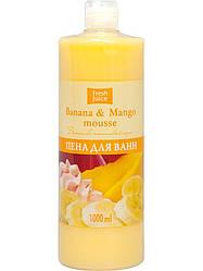 Пена для ванн Fresh Juice Banana & Mango mousse 1 л