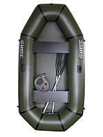 Надувная лодка Альфа, двухместная, 240 см