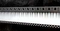 Стартовый профиль для базальтовой ваты 43 мм. длина 2,0 м.п. толщина алюминия 0,8 мм, фото 1