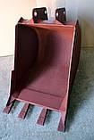 Ковши для Экскаватора БОРЭКС ЭО-2621 на базе тракторов МТЗ ЮМЗ, фото 4