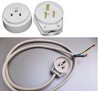 Замена электрического кабеля электроплиты с 3-х полюсной электровилкой