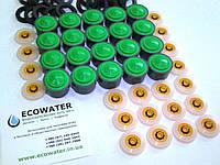 """Комплект водосберегающих насадок аэраторов """"Бизнес +""""  (рукомойник, душ), 40 шт."""