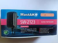 Блок питания MastAK SW-2123 12V 3000mAh