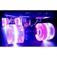 Пенни борд (Penny board) ,скейт ,скейтборд со светящимися колесами