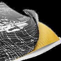 Шумоизоляция Авто PRACTIK 1,3 мм 47х75 см Обесшумка Виброизоляция Шумка Шумовиброизоляция Виброшумоизоляция